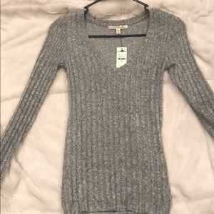 Express soft long sleeve size small